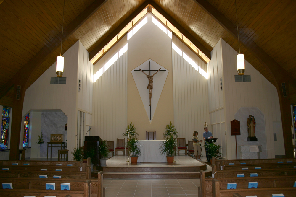 Audio Installation at St Pius